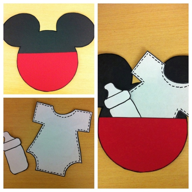 mickey mouse baby shower invitations baby shower pinterest
