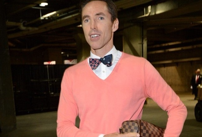 Steve Nash, changing his style now that he's in LA?