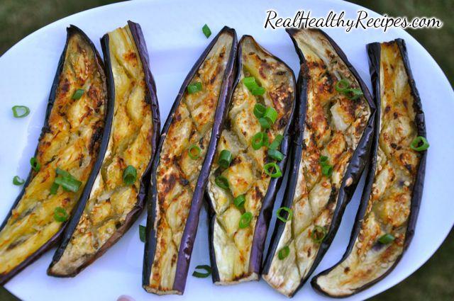 Garlic Roasted Japanese Eggplant by healthyrecipes #Eggplant #Garlic