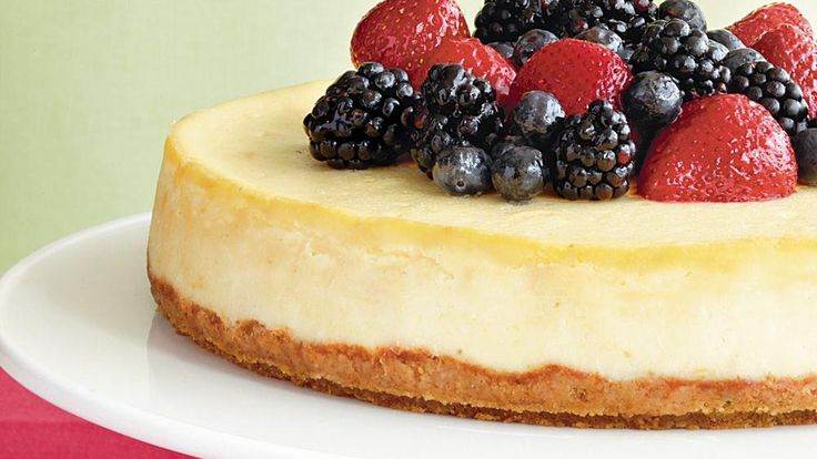 This delicious cheesecake topped with Cascadian Farm® frozen berries ...