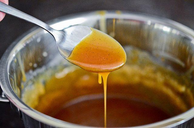Salted bourbon caramel sauce | Foody | Pinterest