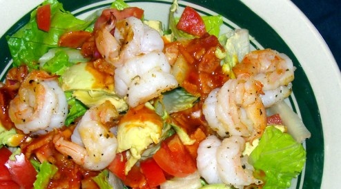 Paleo shrimp dinner recipe