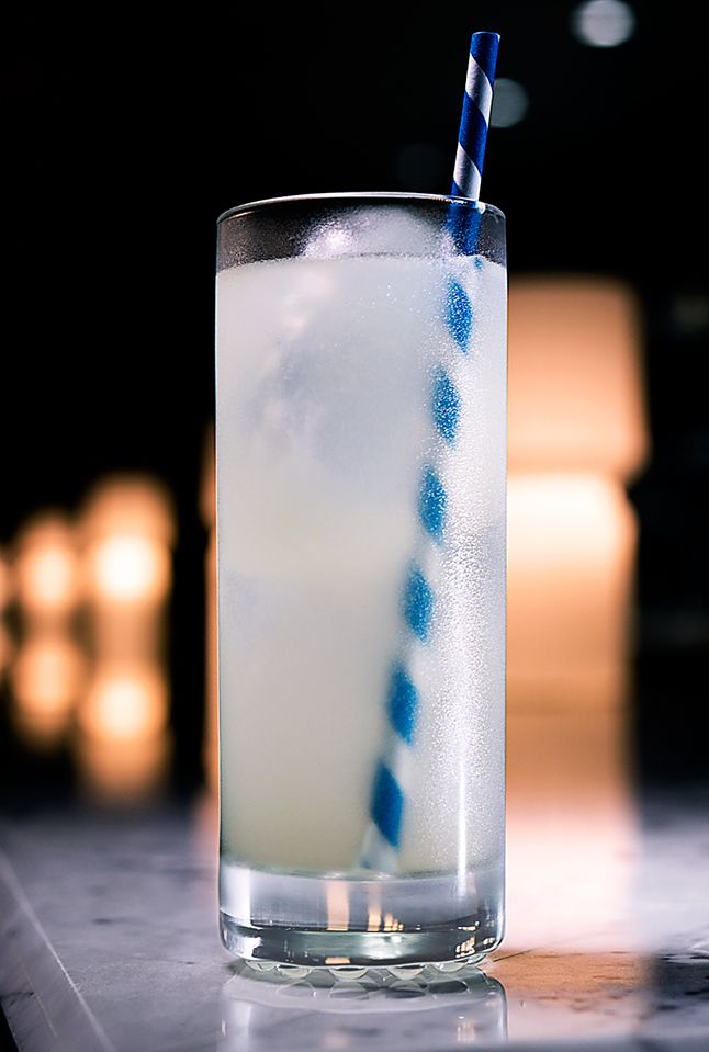 Tomas Collins A Nordic riff on a Tom Collins.