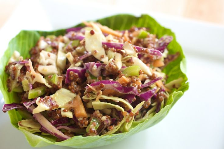 Quinoa Asian Slaw Recipe — Dishmaps