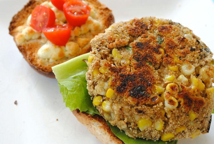 Roasted Eggplant Burgers | Lightened Meals & Snacks | Pinterest