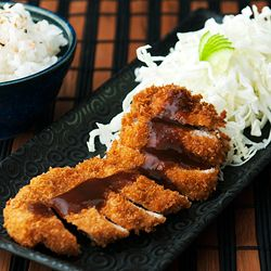 Japanese tonkatsu (pork cutlet) at home! | Pork Recipes | Pinterest