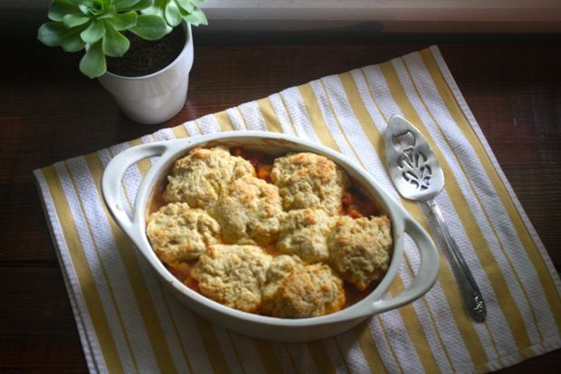 Tomato Cobbler by Food Loves Writing, via Flickr