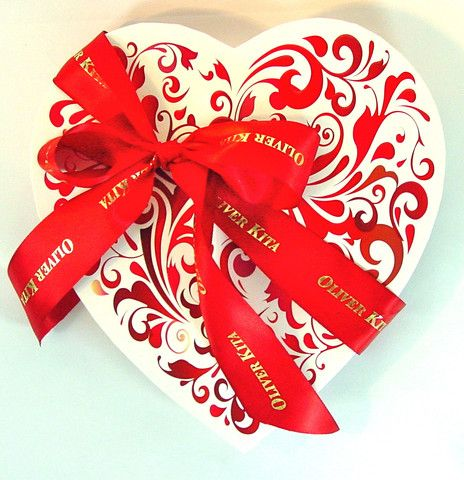 valentine heart chocolate
