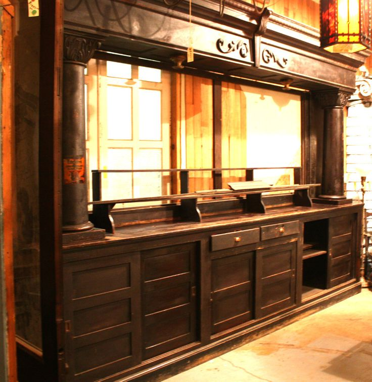 Antique Back Bar