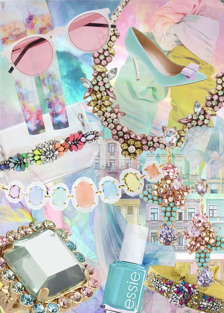 PS-J'ai fait ce ... Gem Bracelet # PSIMADETHIS # DIY # GEM # bracelet # # ACCESSOIRES INSPIRATION # COLLAGE