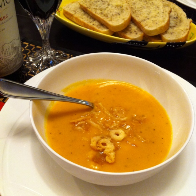 "Sweet Potato and Rosemary Soup (all recipes found on my ""Recipes I'v..."