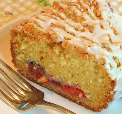 Cherry Streusel Coffee Cake | Muffins, Breads & Coffee Cakes | Pinter ...