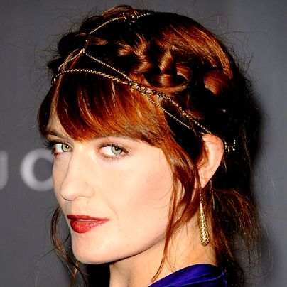 Paul Mitchell Schools | Florence Welch's Lightly Touseld Milkmaid Braid