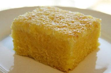 Cornmeal Cake (Bolo de Fuba) — Punchfork | food & drink | Pinterest