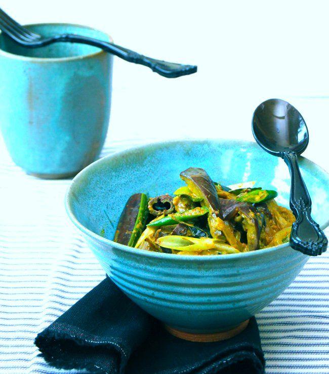 Eggplant With Pickling Spices Recipe — Dishmaps