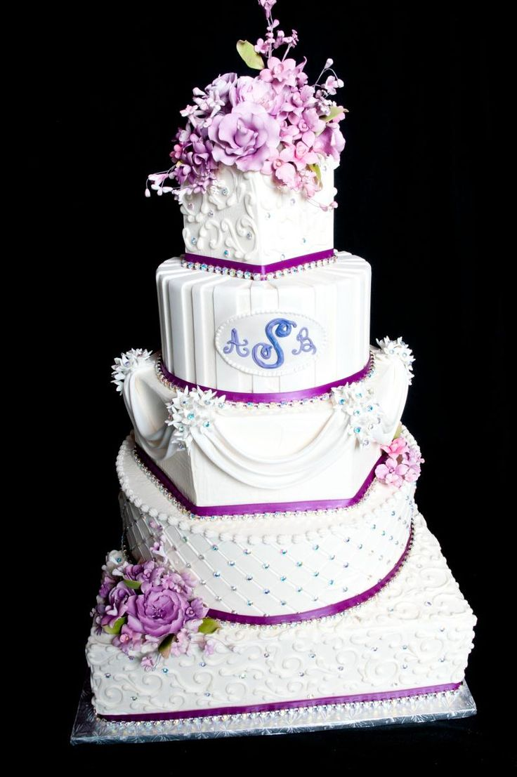 Blinged Out Wedding Cake Ideas And Designs
