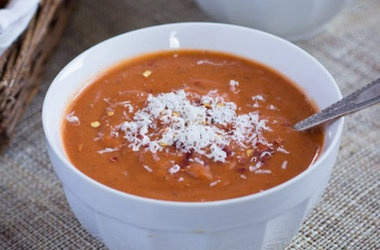 quick amp healthy tomato bisque with quinoa punchfork