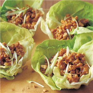 Hoisin-Cashew Chicken in Lettuce Cups | Family Meals/Cooking | Pinter ...