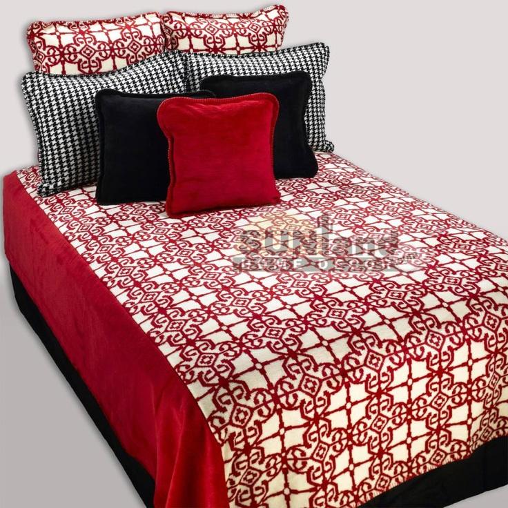 Moroccan Microplush Bedding Ensemble  Cabin/Lake house  Pinterest