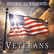 november Veterans Day