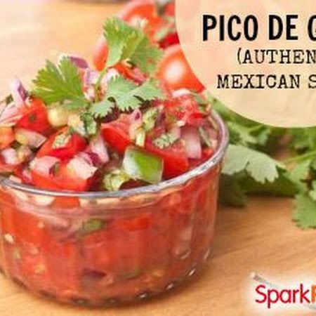 Pico de Gallo (Authentic Mexican Salsa)   Mexican dishes   Pinterest