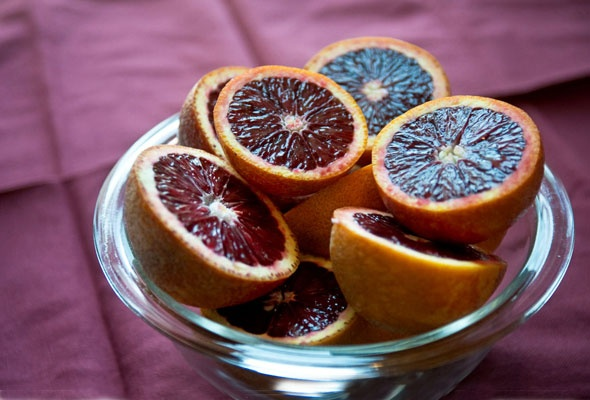 Blood orange olive oil cake #dessert