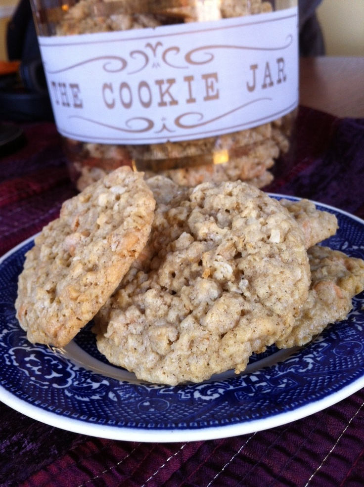Oatmeal Scotchies with coconut and orange (I'd skip the orange, though ...
