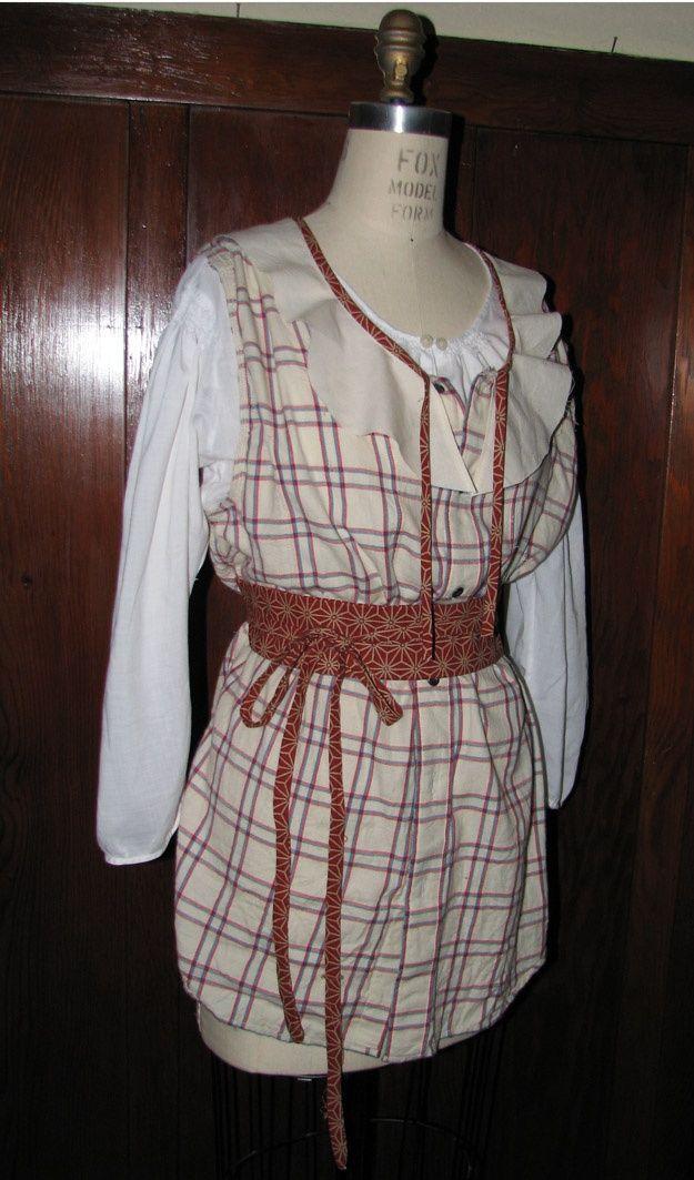 upcycling mens dress shirts | Turning mens dress shirts into dresses