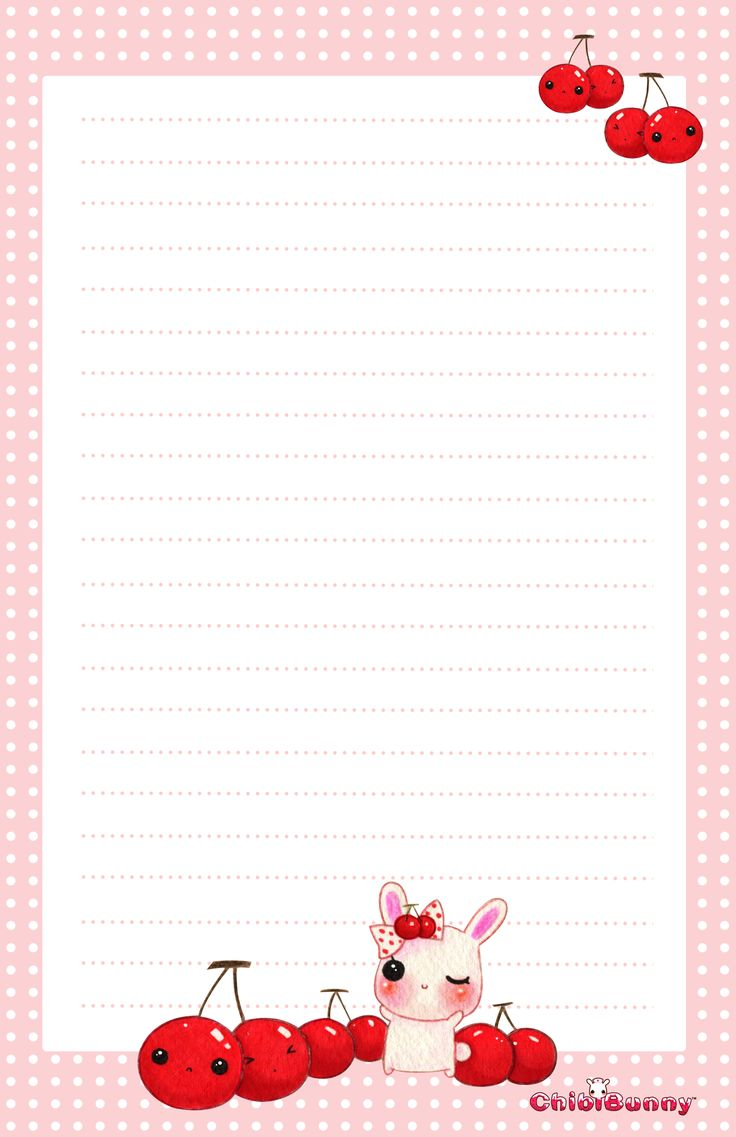 Free Printable Note Paper, it is in Spanish but all you need to do is ...