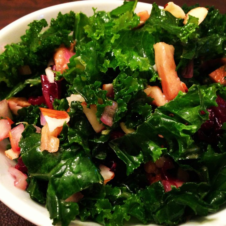 Summer Kale Salad. Whole Foods store recipe. It is great for a hot ...