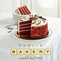 Publix Pepperment Bark Cake