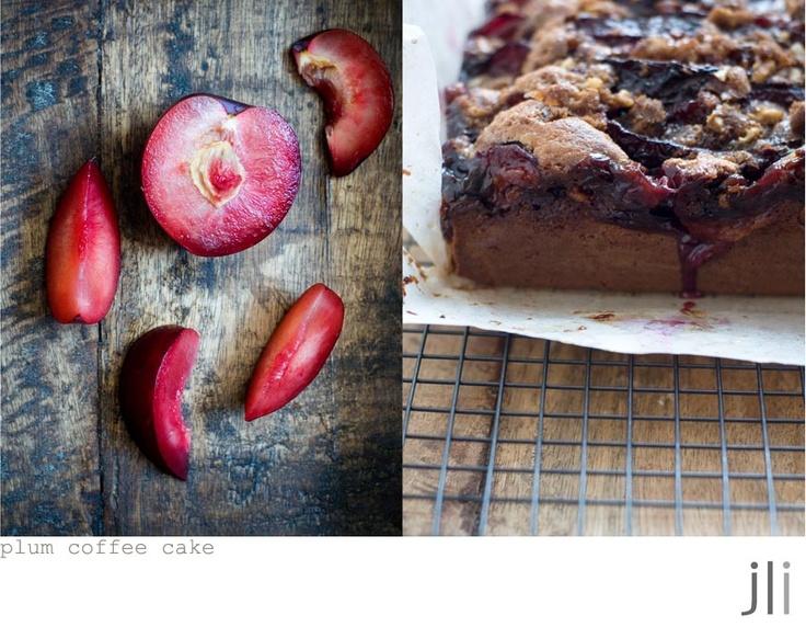 Plum coffee cake   gotta try recipes   Pinterest