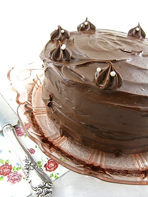 Chocolate Espresso Layer Cake with Chocolate Mocha Mascarpone ...