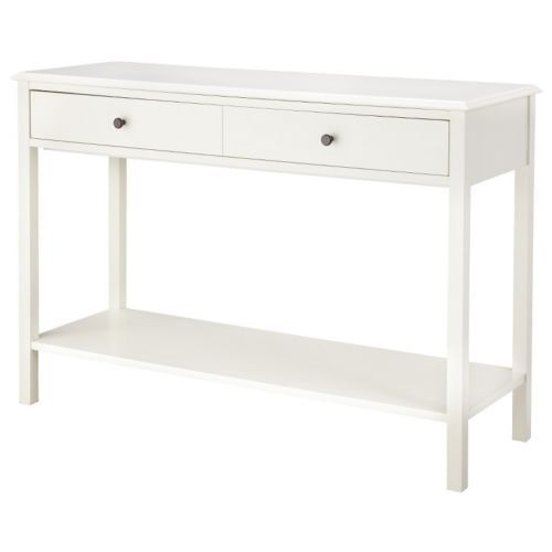 entryway white console table furniture decor home living room family
