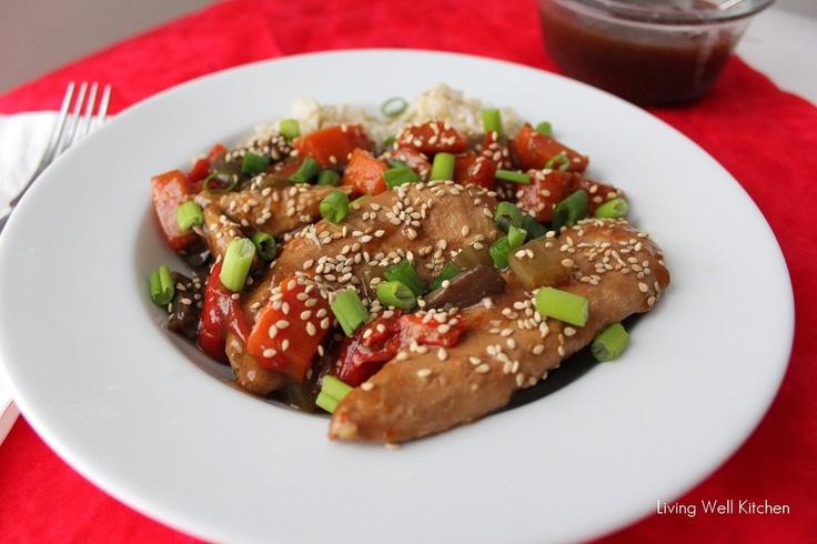 Crock Pot Sesame Honey Chicken