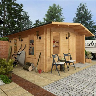 Billyoh Alpine Workshop Log Cabin Log Cabins Pinterest