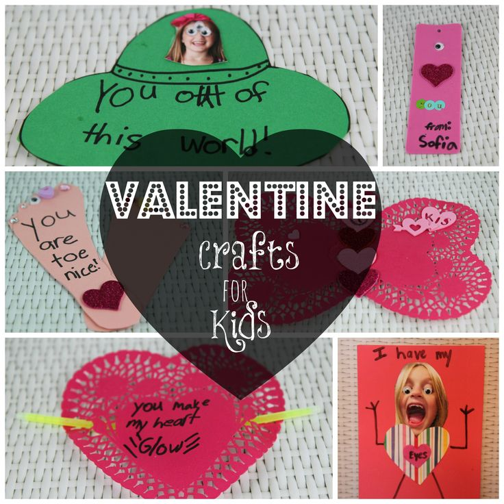 Easy and inexpensive valentine crafts for kids for Easy cheap crafts