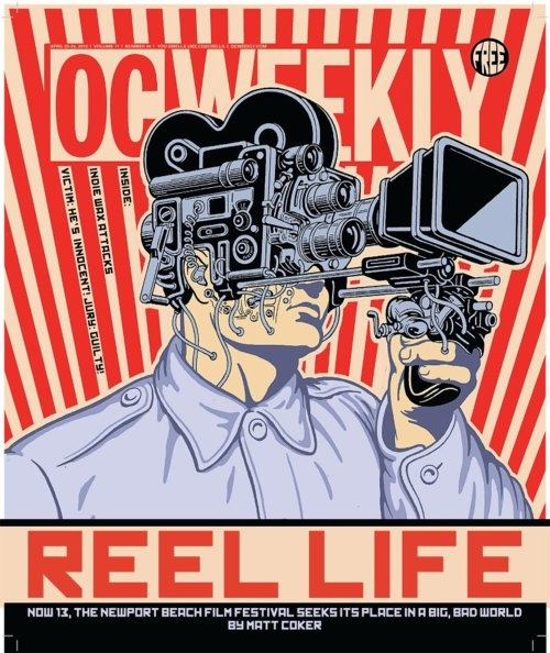 OC Weekly, April 20, 2012. Art director: Laila Derakhshanian, illustration: Tim Lane