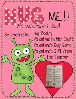 valentine's day hug craft