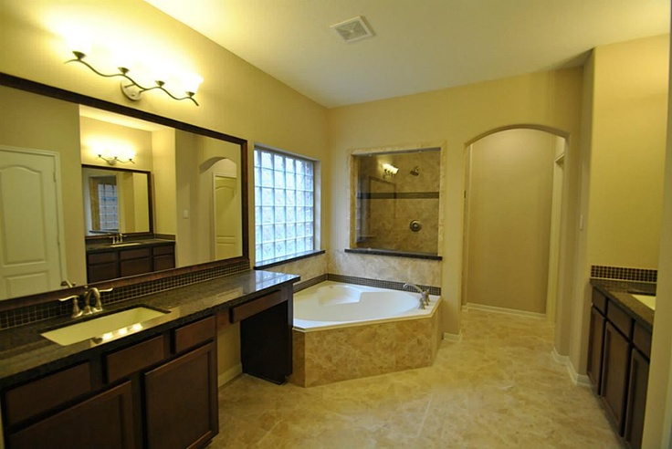 Gorgeous Master Bathroom Retreat For Two Her Private Vanity With Sitting Area Deep Upgrade