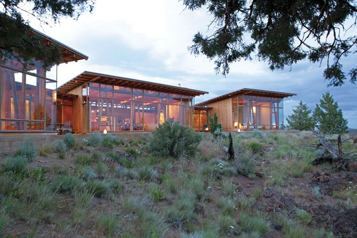 Oregon desert home by james cutler modern houses xx for Jim cutler architect