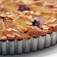 French Pear & Almond Tart | Pies & Cakes | Pinterest
