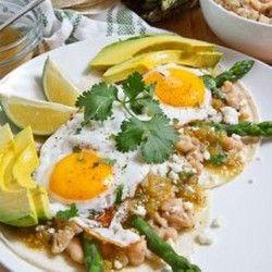 Asparagus Huevos Rancheros | Food | Pinterest