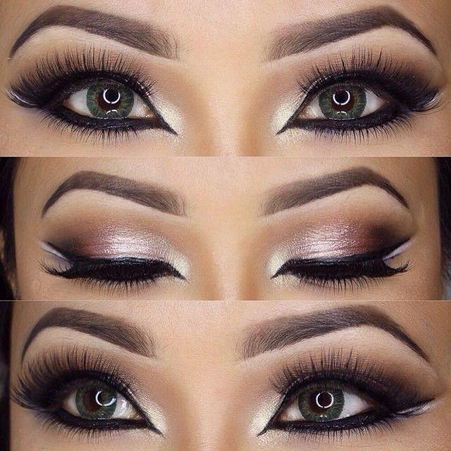 Dramatic eye look Lets make up ;-) Pinterest