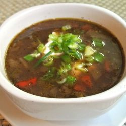 Crock Pot Black Bean Soup by Mom Whats for Dinner