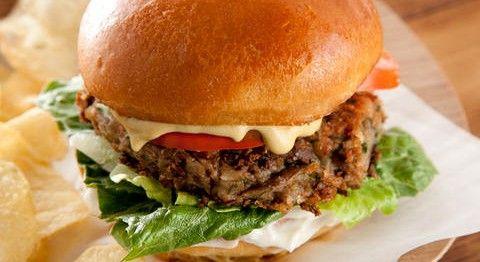 Black-Eyed Pea Vegan Burgers | Vegan Burgers | Pinterest