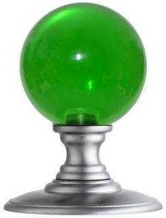 Green glass ball door knob colored glass pinterest