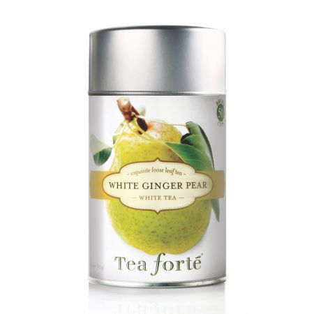 Tea Forte White Ginger Pear Loose Leaf White Tea 60g