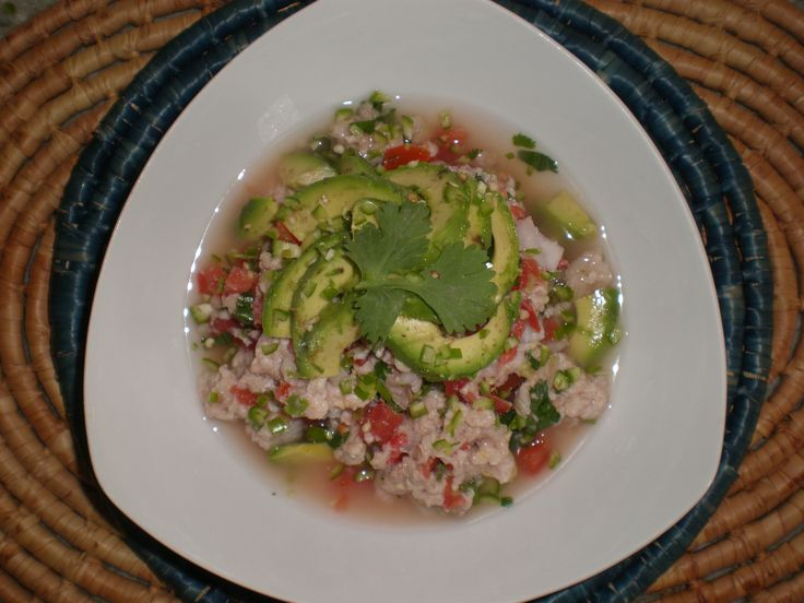Authentic Mexican Saw-fish Ceviche Recipe.. i think i'm hungry