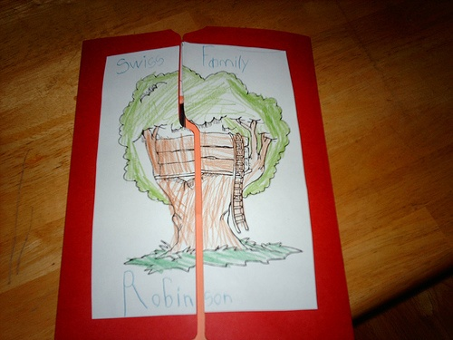 Swiss Family Robinson lapbook